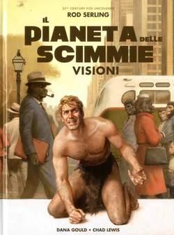 Copertina PIANETA DELLE SCIMMIE n.3 - VISIONI, PANINI COMICS