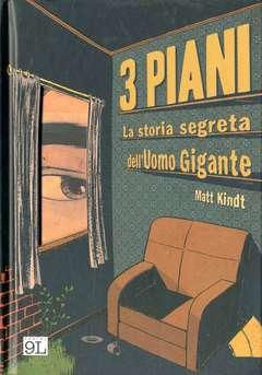 Copertina 3 PIANI n.0 - LA STORIA SEGRETA DELL'UOMO GIGANTE, PANINI COMICS