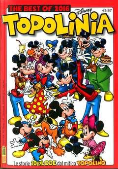 Copertina PIUDISNEY n.67 - THE BEST OF 2016 TOPOLINIA, PANINI COMICS