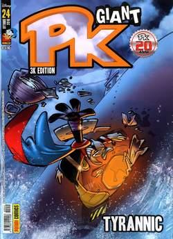 Copertina PK GIANT n.24 - TYRANNIC, PANINI COMICS