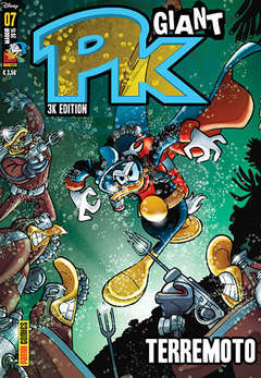 Copertina PK GIANT n.7 - 3K EDITION - TERREMOTO, PANINI COMICS