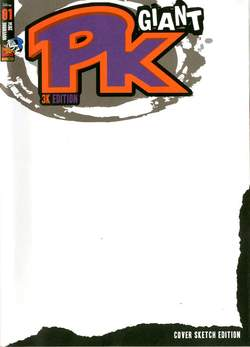 Copertina PK GIANT n.1 - PK GIANT 1 Variant Cover, PANINI COMICS