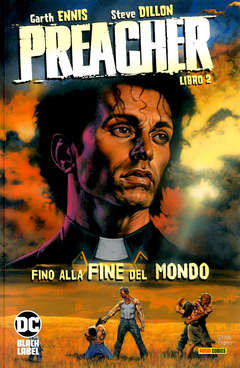 Copertina PREACHER n.2 - FINO ALLA FINE DEL MONDO, PANINI COMICS