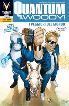Copertina QUANTUM & WOODY n.1 - VALIANT DELUXE PRESENTA 1, PANINI COMICS
