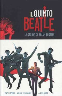 Copertina QUINTO BEATLE Deluxe n.0 - IL QUINTO BEATLE - Deluxe (SSP), PANINI COMICS