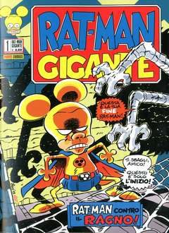 Copertina RAT-MAN GIGANTE n.1 - RAT-MAN GIGANTE, PANINI COMICS