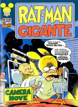 Copertina RAT-MAN GIGANTE n.35 - RAT-MAN GIGANTE , PANINI COMICS