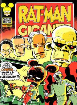 Copertina RAT-MAN GIGANTE n.78 - RAT-MAN GIGANTE, PANINI COMICS