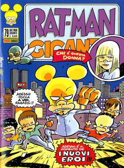 Copertina RAT-MAN GIGANTE n.79 - RAT-MAN GIGANTE, PANINI COMICS