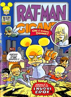 Copertina RAT-MAN GIGANTE n.79 - RAT-MAN GIGANTE, PANINI COMICS