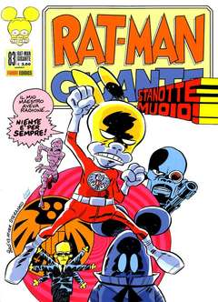 Copertina RAT-MAN GIGANTE n.83 - RAT-MAN GIGANTE, PANINI COMICS