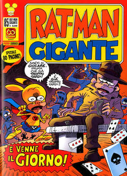 Copertina RAT-MAN GIGANTE n.85 - RAT-MAN GIGANTE, PANINI COMICS