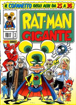 Copertina RAT-MAN GIGANTE Cofanetto #3 n.1 - COFANETTO 25/36 VUOTO, PANINI COMICS