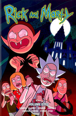 Copertina RICK AND MORTY n.8 - VOLUME OTTAVO, PANINI COMICS
