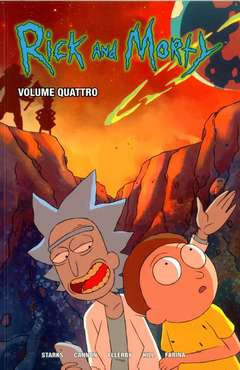 Copertina RICK AND MORTY n.4 - VOLUME QUARTO, PANINI COMICS
