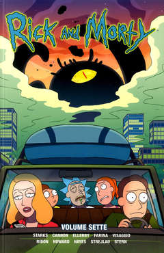 Copertina RICK AND MORTY n.7 - VOLUME SETTIMO, PANINI COMICS