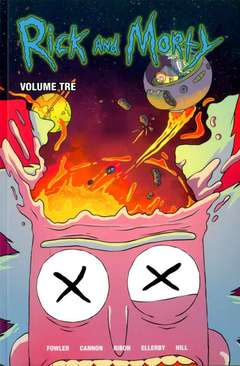 Copertina RICK AND MORTY n.3 - VOLUME TERZO, PANINI COMICS