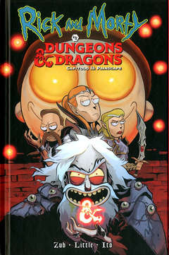 Copertina RICK AND MORTY VS DUNGEONS... n.2 - RICK AND MORTY VS DUNGEONS AND DRAGONS, PANINI COMICS