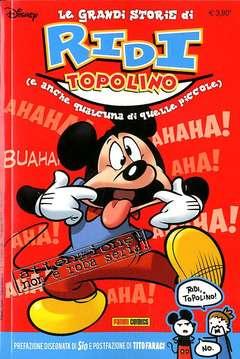 Copertina RIDI TOPOLINO n. - TOPOGOL 13, PANINI COMICS