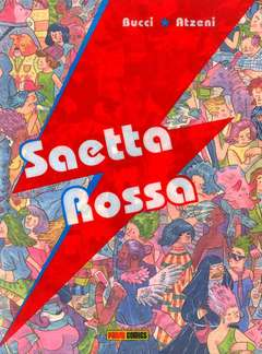 Copertina SAETTA ROSSA n. - SAETTA ROSSA, PANINI COMICS
