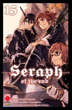 Copertina SERAPH OF THE END n.15 - SERAPH OF THE END, PANINI COMICS