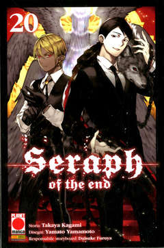 Copertina SERAPH OF THE END n.20 - ARASHI 33, PANINI COMICS