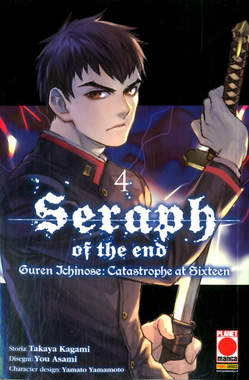Copertina SERAPH OF THE END GUREN... n.4 - GUREN ICHINOSE: CATASTROPHE AT SIXTEEN, PANINI COMICS