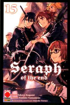 Copertina SERAPH OF THE END Ristampa n.15 - SERAPH OF THE END 15, PANINI COMICS