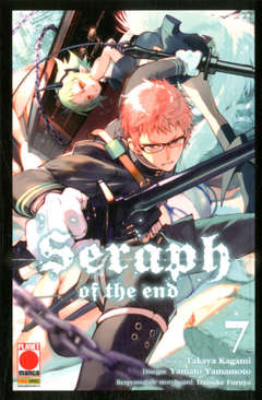 Copertina SERAPH OF THE END Ristampa n.7 - SERAPH OF THE END, PANINI COMICS