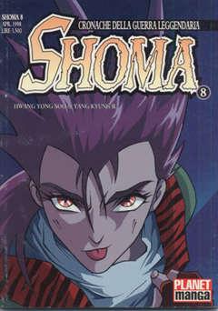 Copertina SHOMA n.8 - SHOMA, PANINI COMICS