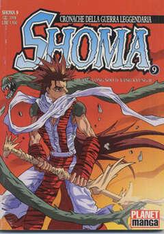 Copertina SHOMA n.9 - SHOMA, PANINI COMICS