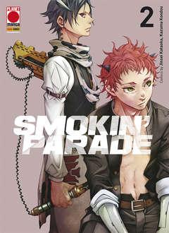 Copertina SMOKIN' PARADE n.2 - SMOKIN' PARADE, PANINI COMICS