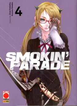 Copertina SMOKIN' PARADE n.4 - SMOKIN' PARADE, PANINI COMICS