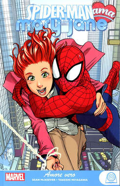 Copertina SPIDER-MAN AMA MARY JANE n.1 - AMORE VERO, PANINI COMICS