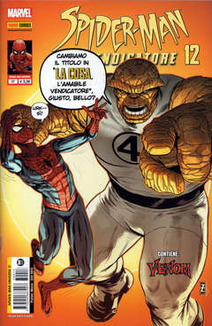 Copertina SPIDER-MAN UNIVERSE n.17 - SPIDER-MAN IL VENDICATORE 12, PANINI COMICS
