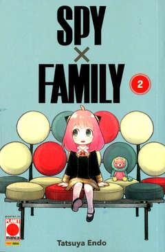 Copertina SPY X FAMILY RISTAMPA n.2 - SPY X FAMILY RISTAMPA, PANINI COMICS