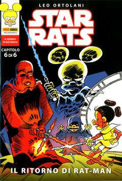 Copertina STAR RATS (m6) n.6 - IL RITORNO DI RAT-MAN, PANINI COMICS