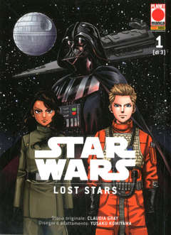 Copertina STAR WARS LOST STARS (m3) n.1 - MANGA SOUND 40, PANINI COMICS