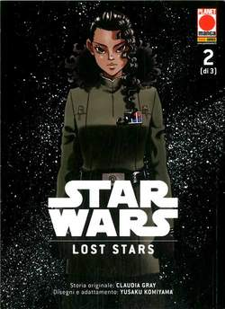 Copertina STAR WARS LOST STARS (m3) n.2 - MANGA SOUND 41, PANINI COMICS