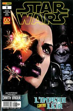 Copertina STAR WARS Nuova Serie n.76 - STAR WARS 8, PANINI COMICS