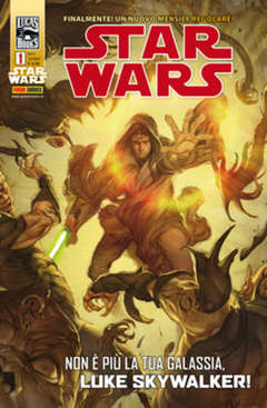 Copertina STAR WARS n.1 - PANINI ACTION 1, PANINI COMICS