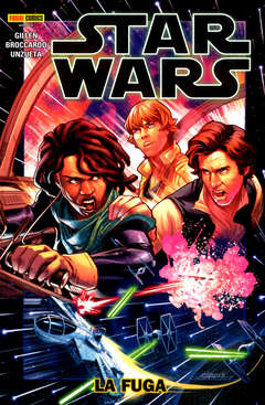 Copertina STAR WARS Volume n.10 - LA FUGA, PANINI COMICS