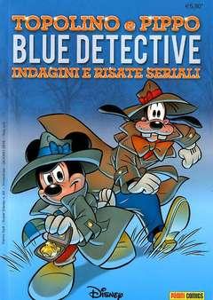 Copertina SUPER DISNEY n.64 - Topolino e Pippo blue detective  Indagini e risate seriali, PANINI COMICS