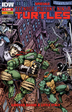 Copertina TEENAGE MUTANT NINJA...Special n.1 - GROSSO GUAIO A LITTLE ITALY, PANINI COMICS
