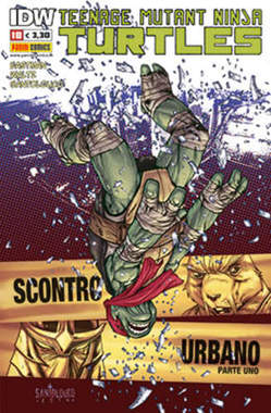Copertina TEENAGE MUTANT NINJA TURTLES n.18 - PANINI NINJA 18, PANINI COMICS