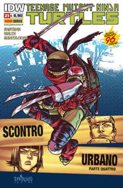 Copertina TEENAGE MUTANT NINJA TURTLES n.21 - PANINI NINJA 21, PANINI COMICS