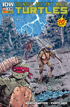 Copertina TEENAGE MUTANT NINJA TURTLES n.23 - TEENAGE MUTANT NINJA TURTLES, PANINI COMICS