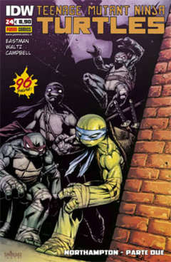 Copertina TEENAGE MUTANT NINJA TURTLES n.24 - TEENAGE MUTANT NINJA TURTLES, PANINI COMICS