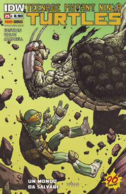 Copertina TEENAGE MUTANT NINJA TURTLES n.25 - TEENAGE MUTANT NINJA TURTLES, PANINI COMICS