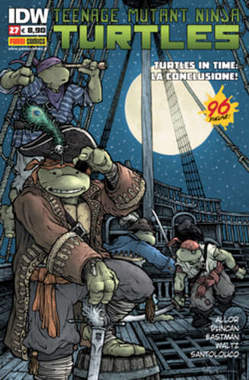 Copertina TEENAGE MUTANT NINJA TURTLES n.27 - TEENAGE MUTANT NINJA TURTLES, PANINI COMICS